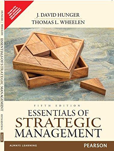 Essentials of Strategic Management - 5th Ed