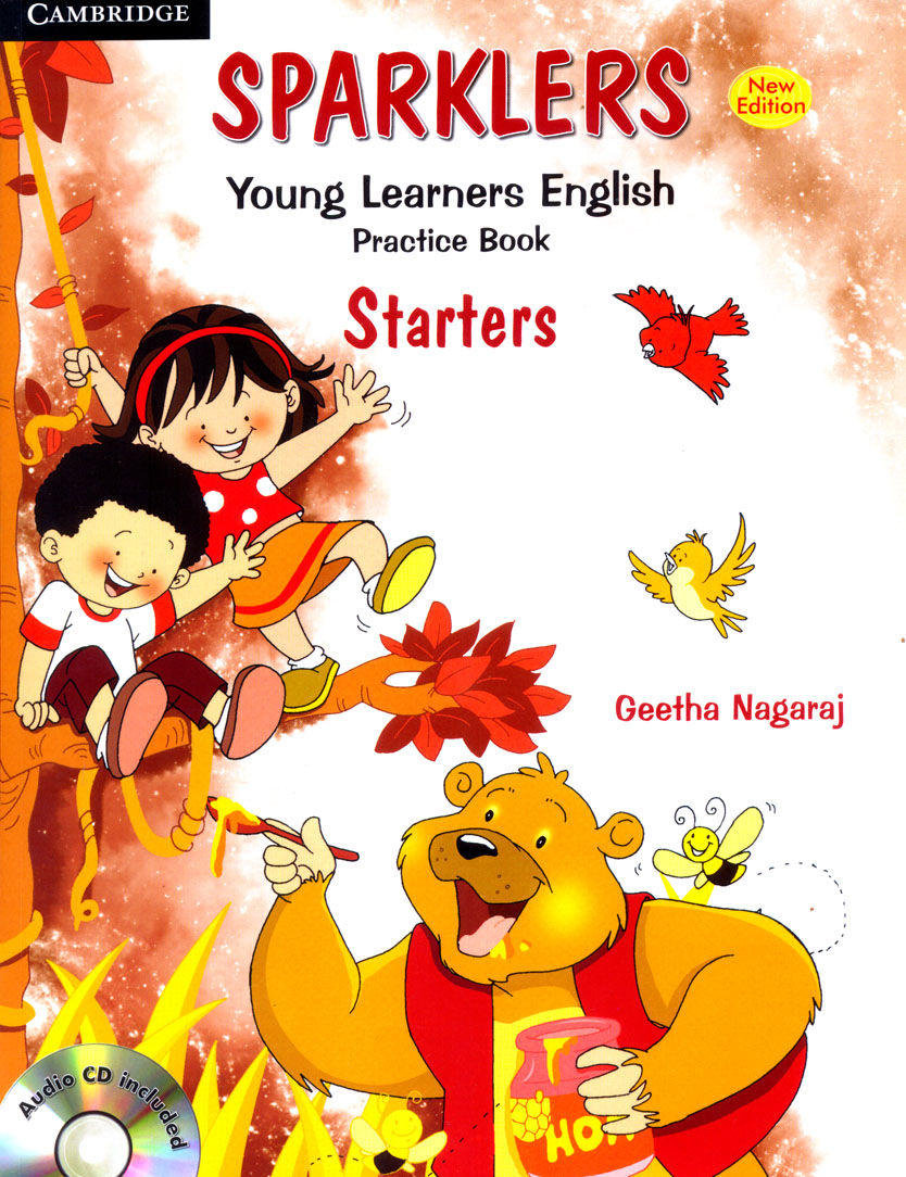 Sparklers Young Learners English Practice Book : Starters With Cd