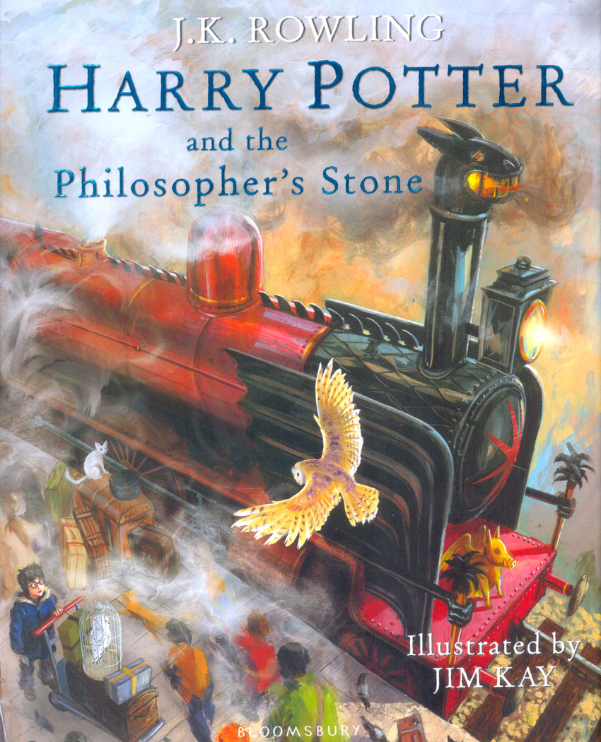 Harry Potter And The Philosophers Stone Illustrated Edition  (H/B)