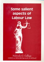 Some salient aspects of labour law