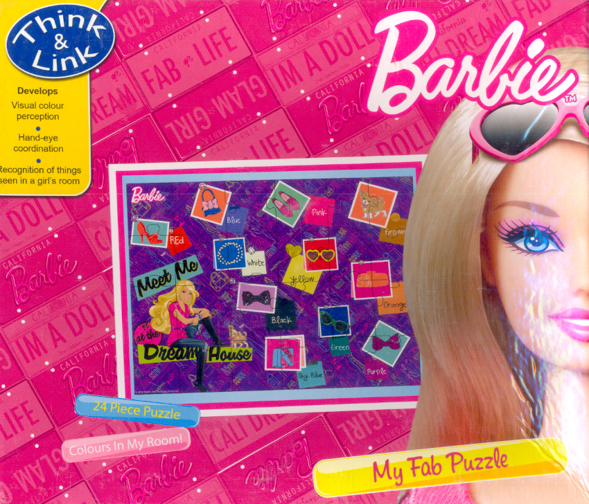 Barbie : My Fab Puzzle